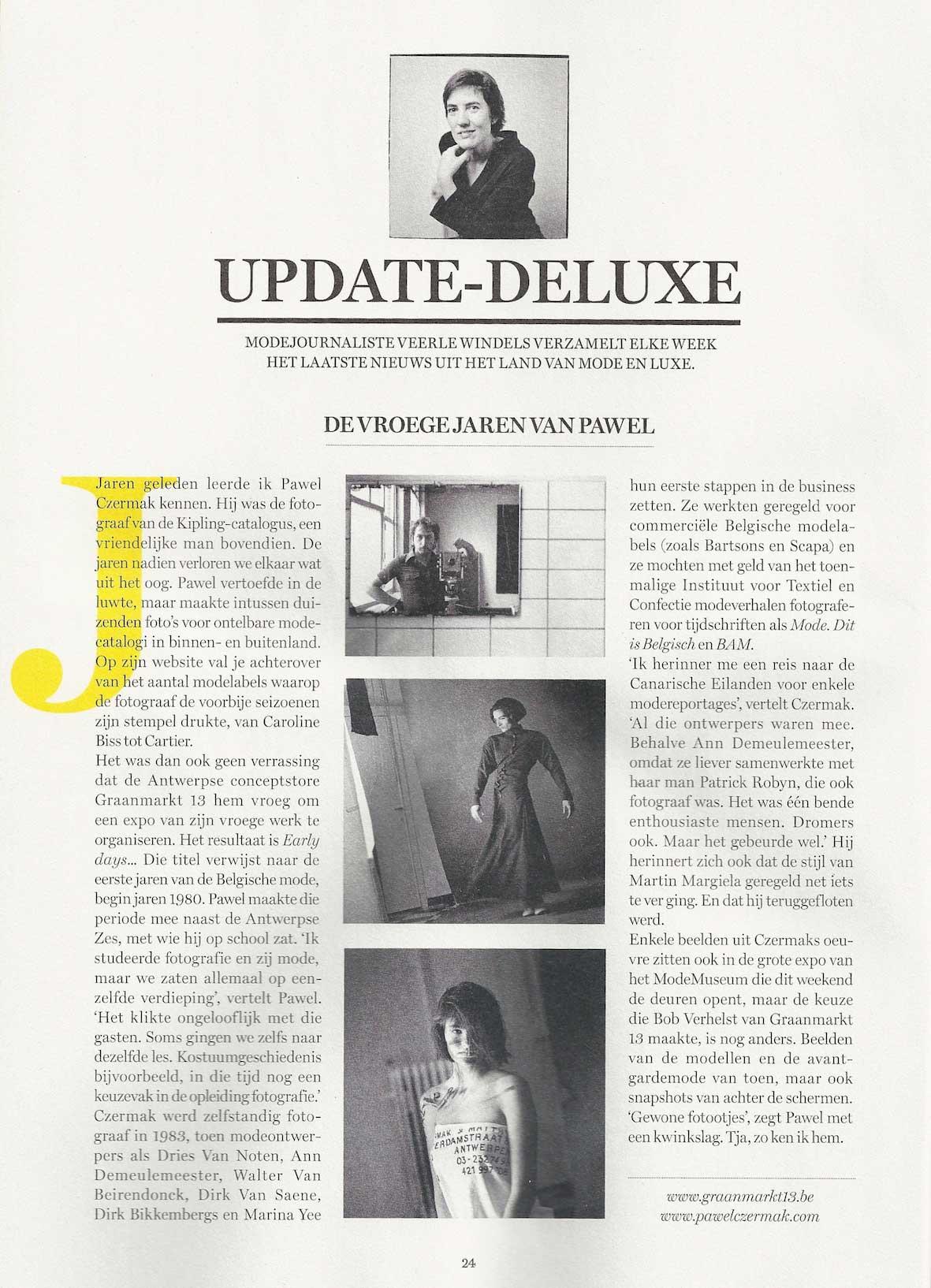 dS Magazine - De vroege jaren van Pawel Czermak